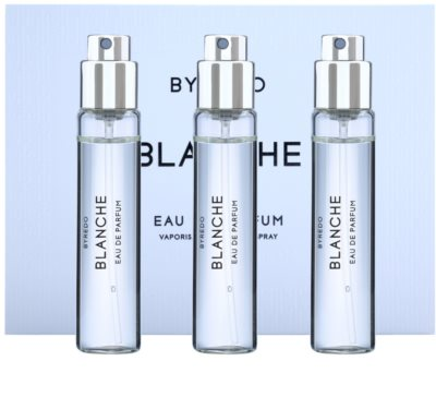 Byredo Blanche парфумована вода для жінок  (3x флакон наповнення з пульверизатором)