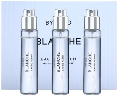 Byredo Blanche Eau de Parfum für Damen  Dreifach-Nachfüllpackung mit Zerstäuber