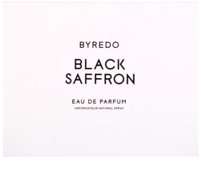Byredo Black Saffron parfumska voda uniseks 4