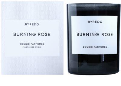 Byredo Burning Rose vonná svíčka