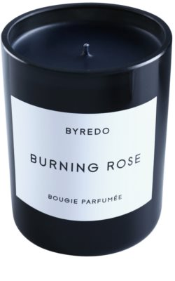 Byredo Burning Rose vela perfumado 2