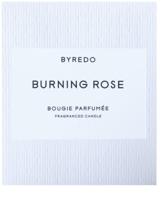 Byredo Burning Rose vela perfumado 3