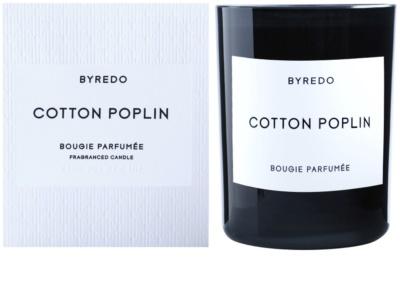 Byredo Cotton Poplin vela perfumada