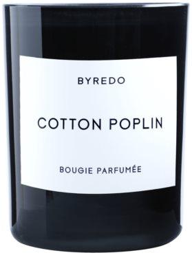 Byredo Cotton Poplin vela perfumada 1