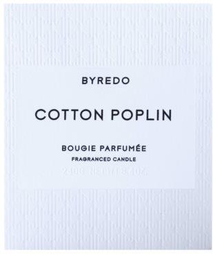 Byredo Cotton Poplin Duftkerze 3