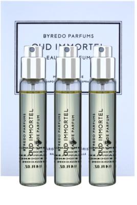 Byredo Oud Immortel eau de parfum unisex  (3x utántöltő szórófejjel)