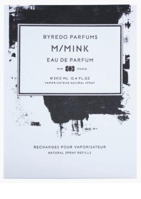 Byredo M / Mink parfumska voda uniseks  (3x polnilo z razpršilcem) 3