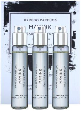 Byredo M / Mink parfémovaná voda unisex  (3x náplň s rozprašovačem)