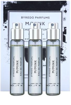 Byredo M / Mink parfumska voda uniseks  (3x polnilo z razpršilcem)