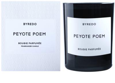 Byredo Peyote Poem lumanari parfumate