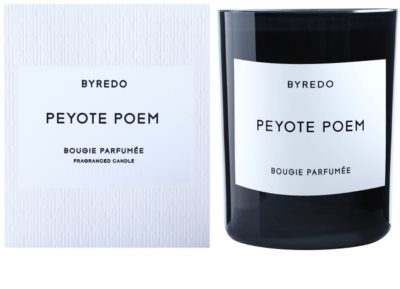 Byredo Peyote Poem vela perfumada