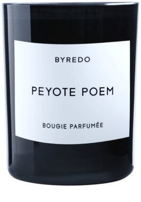 Byredo Peyote Poem Scented Candle 1