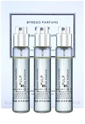 Byredo Pulp Eau de Parfum unisex  Dreifach-Nachfüllpackung mit Zerstäuber