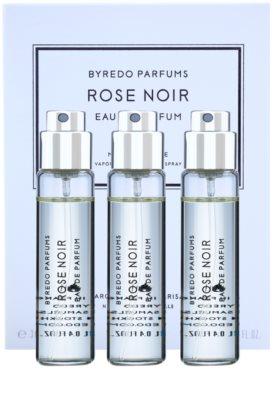 Byredo Rose Noir парфумована вода унісекс  (3x флакон наповнення з пульверизатором)