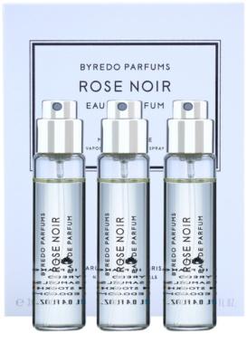 Byredo Rose Noir Eau de Parfum unisex  Dreifach-Nachfüllpackung mit Zerstäuber