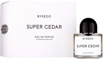 Byredo Super Cedar Eau de Parfum unissexo 1