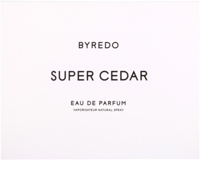 Byredo Super Cedar Eau de Parfum unissexo 4