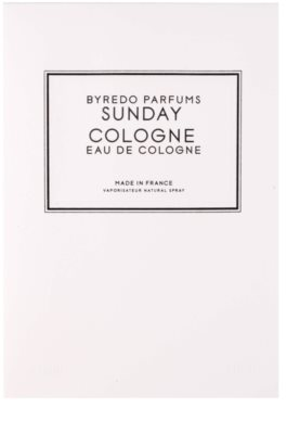 Byredo Sunday Cologne colonia unisex 4