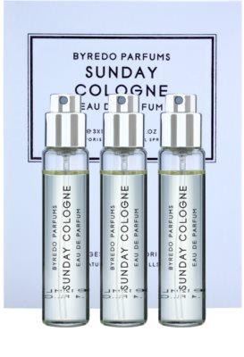 Byredo Sunday Cologne парфюмна вода унисекс  (3 бр.пълнители с пулверизатор)