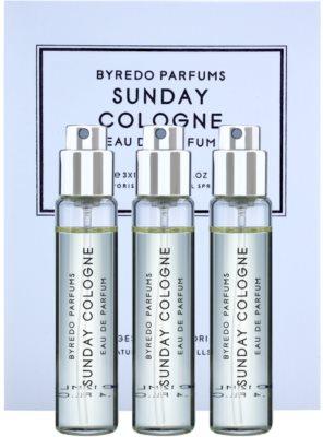 Byredo Sunday Cologne parfémovaná voda unisex  (3x náplň s rozprašovačem)