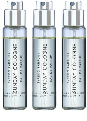 Byredo Sunday Cologne парфюмна вода унисекс  (3 бр.пълнители с пулверизатор) 1