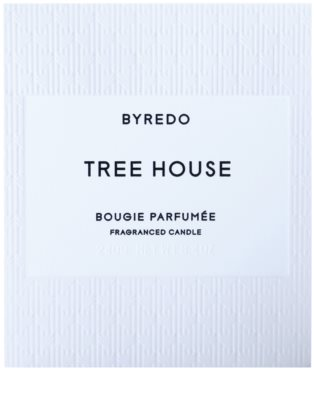 Byredo Tree House vela perfumada 3