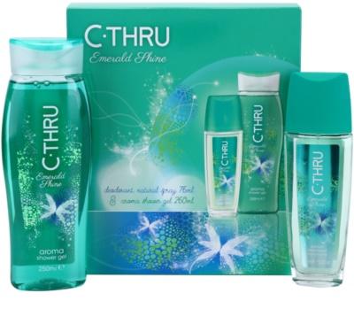C-THRU Emerald Shine set cadou