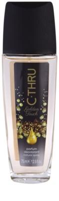 C-THRU Golden Touch dezodorant z atomizerem dla kobiet