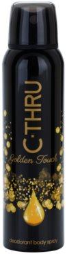 C-THRU Golden Touch deodorant Spray para mulheres