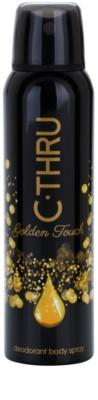 C-THRU Golden Touch deospray pentru femei