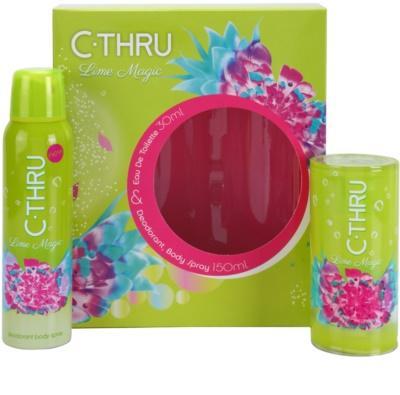 C-THRU Lime Magic подаръчни комплекти