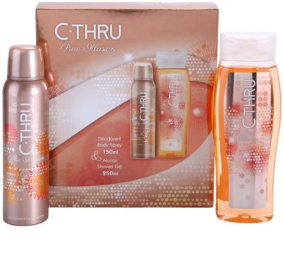 C-THRU Pure Illusion coffret presente