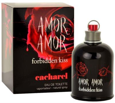 Cacharel Amor Amor Forbidden Kiss eau de toilette nőknek
