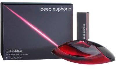 Calvin Klein Deep Euphoria Eau de Parfum para mulheres 1
