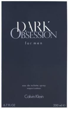 Calvin Klein Dark Obsession for Men Eau de Toilette para homens 1