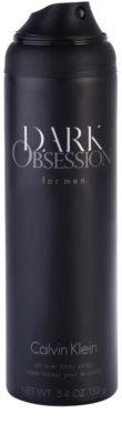 Calvin Klein Dark Obsession for Men спрей за тяло за мъже 1