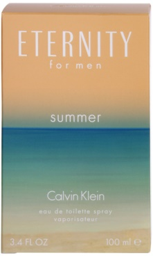 Calvin Klein Eternity for men Summer (2015) Eau de Toilette pentru barbati 3