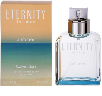 Calvin Klein Eternity for men Summer (2015) Eau de Toilette pentru barbati