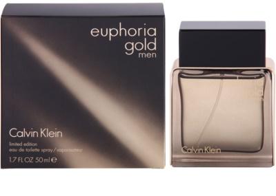 Calvin Klein Euphoria Gold Men woda toaletowa dla mężczyzn