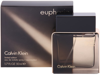 Calvin Klein Euphoria Gold Men woda toaletowa dla mężczyzn 1