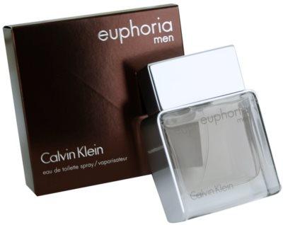 Calvin Klein Euphoria Men Eau de Toilette para homens 1