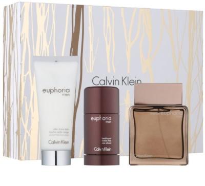 Calvin Klein Euphoria Men Intense set cadou