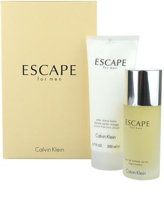 Calvin Klein Escape for Men set cadou