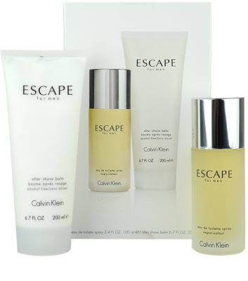 Calvin Klein Escape for Men lote de regalo 1