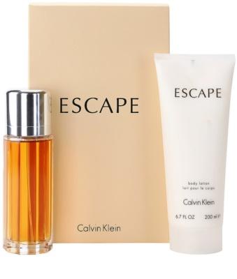 Calvin Klein Escape coffret presente