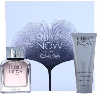 Calvin Klein Eternity Now coffret presente