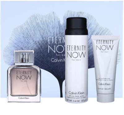 Calvin Klein Eternity Now lote de regalo