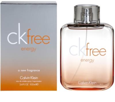 Calvin Klein CK Free Energy eau de toilette férfiaknak