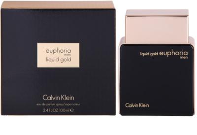 Calvin Klein Euphoria Liquid Gold eau de parfum férfiaknak