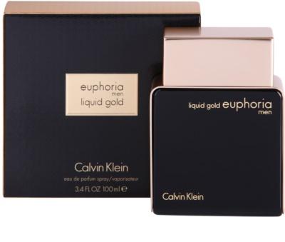 Calvin Klein Euphoria Liquid Gold woda perfumowana dla mężczyzn 1